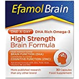 Efamol High Brain Concentrate Capsules - (Pack of 30)