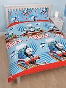 Thomas & Friends 'Race' Double Duvet Cover & 2 Pillowcases Set