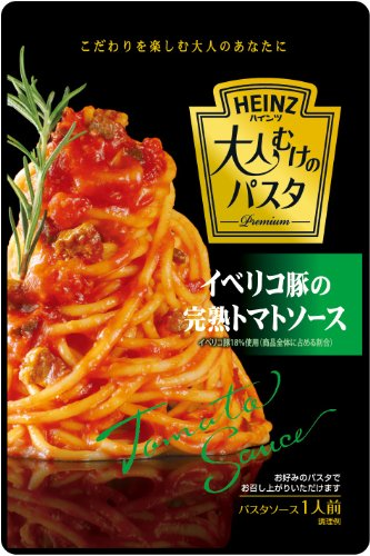 Pasta pork adults of Heinz tomato sauce 130 g x 4pcs