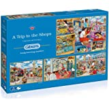 Gibsons A Trip to the Shops Jigsaw Puzzle (4 x 500 pieces)