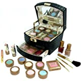 "Exclusive Make-up Kosmetik Schminkkoffer Super Trendfarben gef�llt 17 teiligvon ""TCW"""