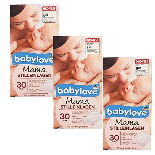 babylove mama Stilleinlagen, 3er Pack (3 x 30St Box)