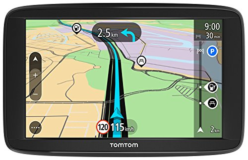TomTom-Start-62-Europe-Traffic-Navigationsgert-15-cm-6-Zoll-Lifetime-Maps-Fahrspurassistent-3-Monate-Radarkameras-auf-Wunsch-Karten-von-48-Lndern-Europas-schwarz