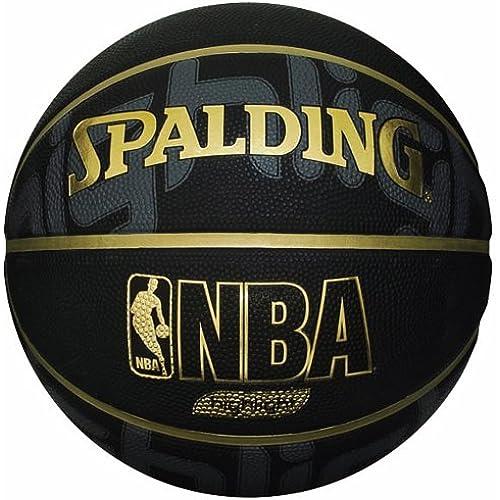 스팔딩 농구 GOLD HIGHLIGHT(골드 하일라이트) 7 호공 블랙/ 골드 73-229Z-73-229Z