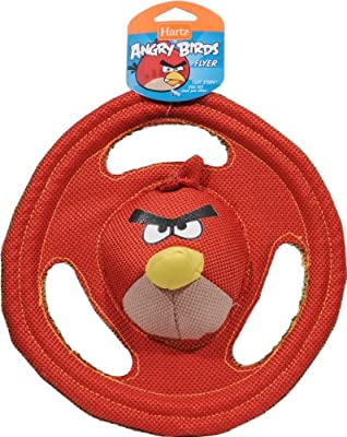 Hartz Angry Birds Tuff Stuff Flyer Dog Toy - Officially Licensed by Rovio
