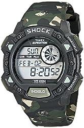 Timex Shock Digital Grey Dial Mens Watch - T49976