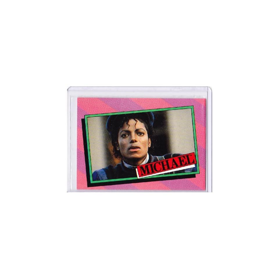 Michael Jackson 1984 Topps Trading Card #15