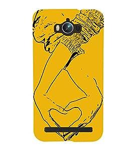 Heart Hands 3D Hard Polycarbonate Designer Back Case Cover for Asus Zenfone Max ZC550KL :: Asus Zenfone Max ZC550KL 2016 :: Asus Zenfone Max ZC550KL 6A076IN