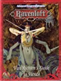 img - for Van Richten's Guide to Fiends (Advanced Dungeons & Dragons : Ravenloft, No 9477) book / textbook / text book