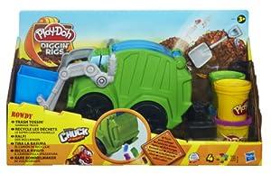 Play Doh Diggin Rigs Trash Tossin Rowdy Garbage Truck