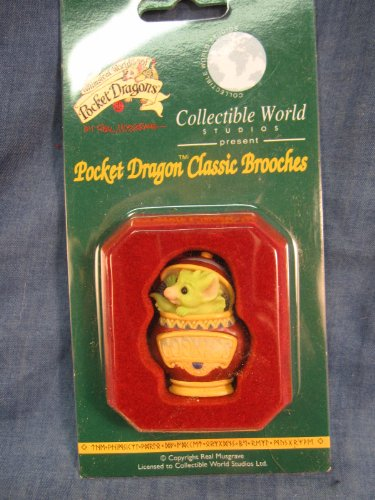 Cookie Jar….. Pocket Dragon Brooch