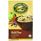 Nature's Path Organic Instant Hot Oatmeal, Variety Pack of Four Flavors, 8-Count Boxes (Pack of 6) ~ Nature's Path