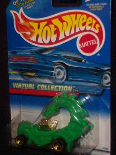 #2000-126 Rodzilla Virtual Collection Collectible Collector Car Mattel Hot Wheels 1:64 Scale - 1