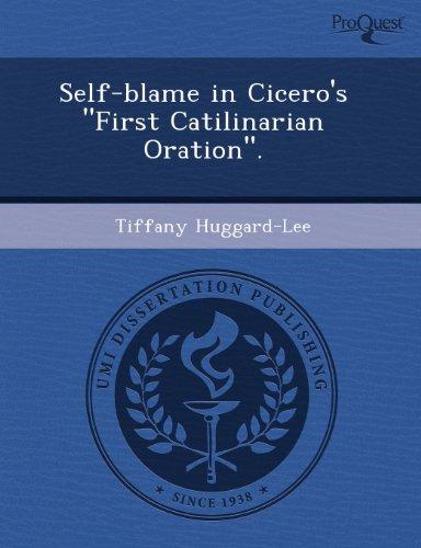 Self-blame in Cicero's