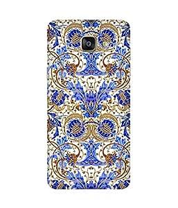 Blue Floral Samsung Galaxy A5 2016 Edition Case