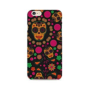 Ebby Crazy Abstract Skull Premium Printed Case For Apple iPhone 6/6s
