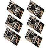 SODIAL(R) 6x 2,4 GHz Drahtlos NRF24L01 Transceiver Modul