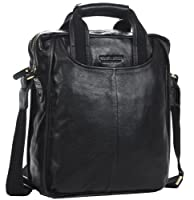 Men's Luxury Genuine Leather Tote Classic Briefcase Shoulder Messenger Cross Body