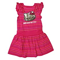 Hello Kitty Girls 2T-4T Stripe Ruffle Dress (5)
