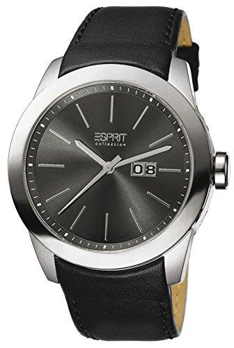 Esprit Collection para hombre-reloj analógico de cuarzo cuero Belos EL900161007