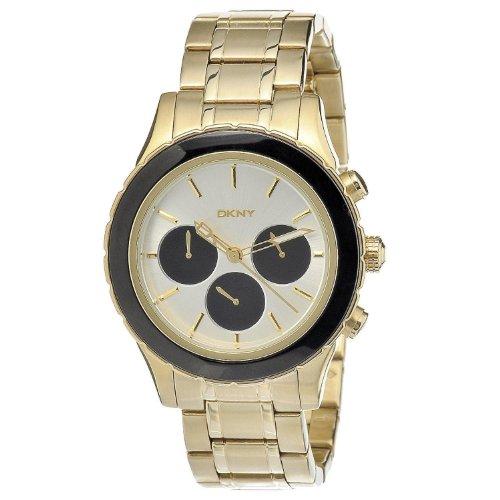 DKNY ny8656 45mm Stainless Steel Case Steel Bracelet Mineral Men's Watch