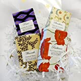 Handmade Organic Soap Gift Set - Citrus & Lavender Scents - 4 Full Size Truly Natural Luxurious Essential Oil Soap Bars
