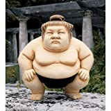 Basho The Sumo Wrestler Statue Size: Large