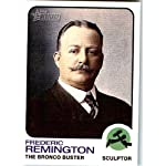 2009 Topps American Heritage Baseball Cards # 63 Frederic Remington (The Bronco Buster)(Artist) Trading Card