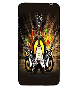 ASUS ZENFONE 5 GUITARS Designer Back Cover Case By PRINTSWAG