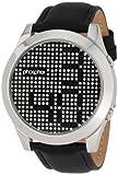 Phosphor Men's MD006G Appear Collection Fashion Crystal Mechanical Digital Watch