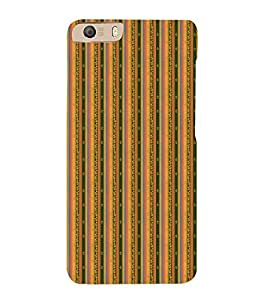 Decorative Line Pattern Cute Fashion 3D Hard Polycarbonate Designer Back Case Cover for Micromax Canvas Knight 2 E471