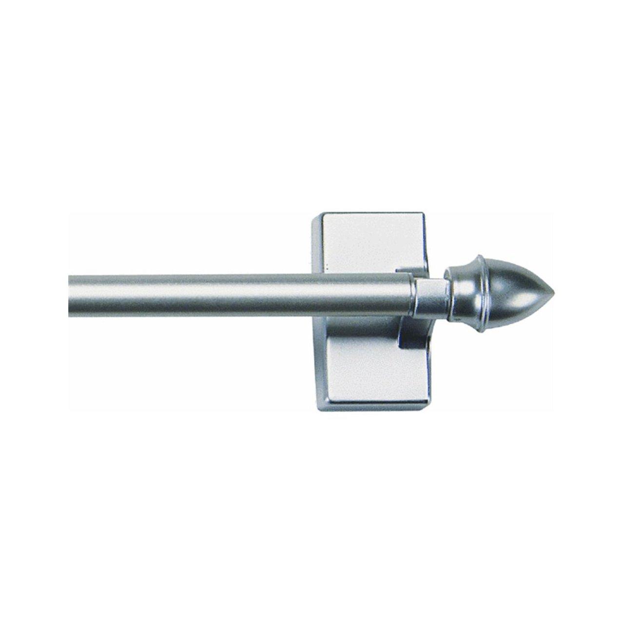 16 28 Magnetic Rod Set White With Brackets Curtain Bar Kitchen Refrigerator Ebay