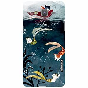 Printland Back Cover For Samsung Galaxy Grand Prime SM-G530H - floric Designer Cases
