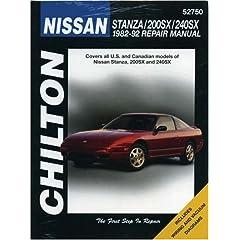 【クリックで詳細表示】Chilton's Nissan Stanza, 200Sx, 240Sx 1982-92 Repair Manual (Chilton's Total Car Care Repair Manual): Chilton Book Company: 洋書