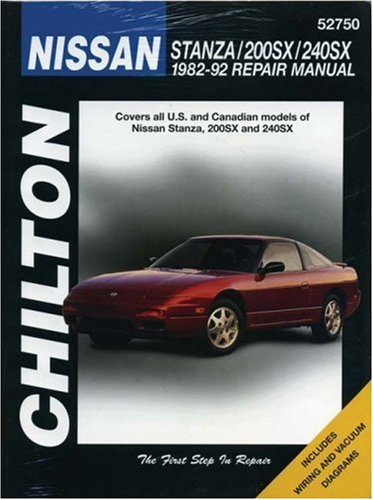 Nissan Stanza, 200SX, and 240SX, 1982-92 (Chilton Total Car Care Series Manuals) (Nissan 240sx For Sale compare prices)