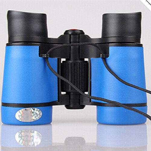 Binocular Telescope 8x40 Miniature Toy Telescope Suit To Kids Blue
