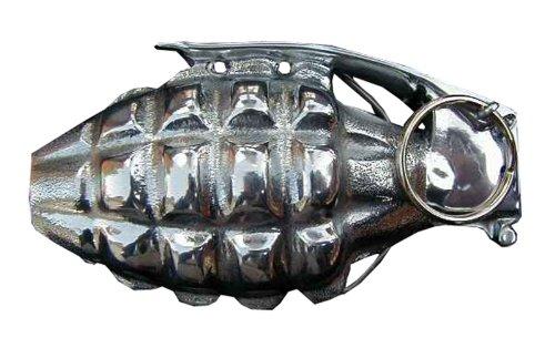 Grenade Novelty Belt Buckle (Grenade Belt Buckle compare prices)