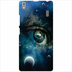 Lenovo A7000 - PA030023IN Back Cover - Silicon Eyed Designer Cases