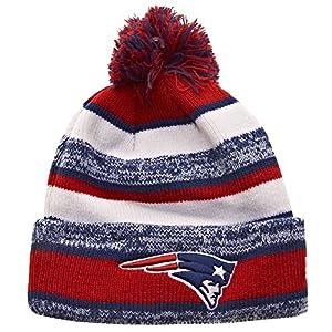 New Era NFL NEW ENGLAND PATRIOTS Authentic On Field Sideline Sport Knit
