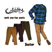 (カフェティ) cafetty レディース ワークペグトップパンツ (Lot/CF-0142) カラーパンツ