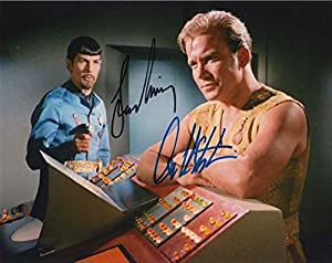 Star Trek (William Shatner & Leonard Nimoy) signed 8x10 photo
