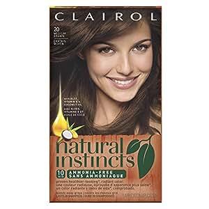 Amazon.com : Clairol Natural Instincts 20 Hazelnut Medium ...