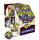 Sollo Cup for Keurig K-Cup Brewers, 96 count (4 pack x 24) - PICK YOUR FLAVOR (100% Colombian)