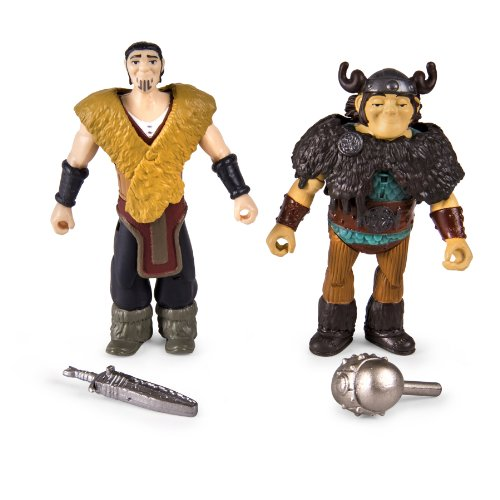 DreamWorks Dragons: How To Train Your Dragon 2 - Viking Warrior Two Pack - Eret vs Snotlout