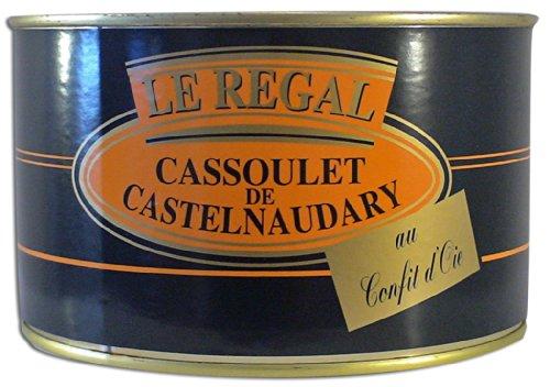 Cassoulet de Castelnaudary 15 % de confit d'oie, Maison Escourrou (1580 g, 4 personnes)