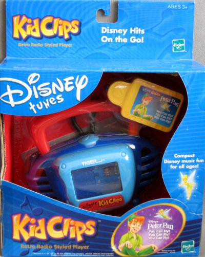 Disney Tunes KID CLIPS Retro Radio Styled Player w PETER PAN