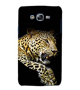 printtech Nature Animal Leopard Back Case Cover for Samsung Galaxy Core Prime G360