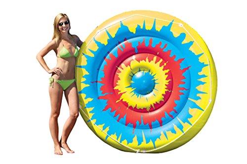 Swimline Tie Dye Island Inflatable Pool Toy