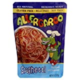 Allergaroo Spaghetti, 8-Ounce Pouches (Pack of 6) ~ Allergaroo