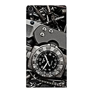 Premium Knife And Watch Back Case Cover for Ascend P6